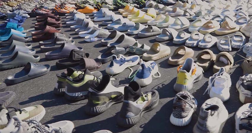 Kanye West Reveals Hundreds Of Never-Before-Seen Yeezy Sneakers 02