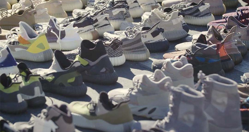 Kanye West Reveals Hundreds Of Never-Before-Seen Yeezy Sneakers 03