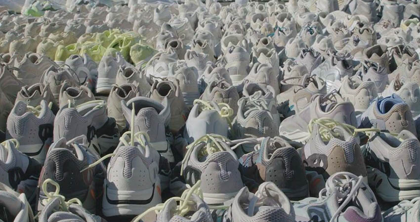 Kanye West Reveals Hundreds Of Never-Before-Seen Yeezy Sneakers 04