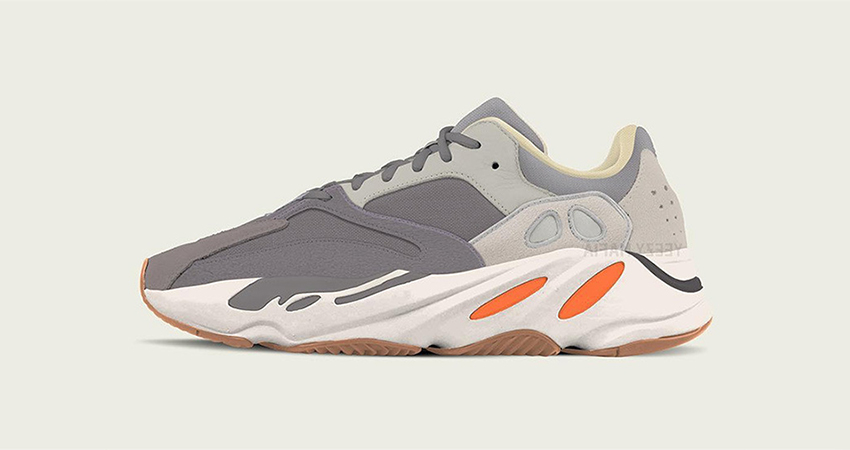 Kanye West Reveals adidas Yeezy Boost 700 In Magnet Colourway