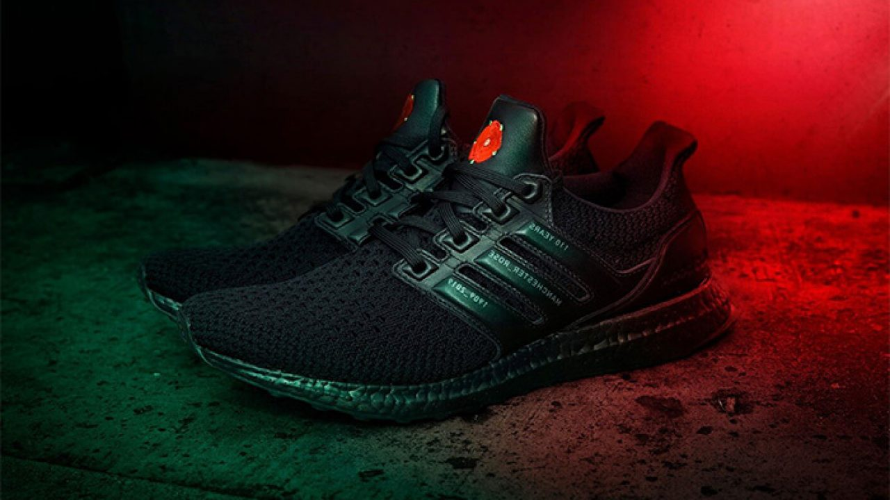 Manchester United Has Teamed Up With Adidas For This Exclusive Adidas Ultra Boost Fastsole