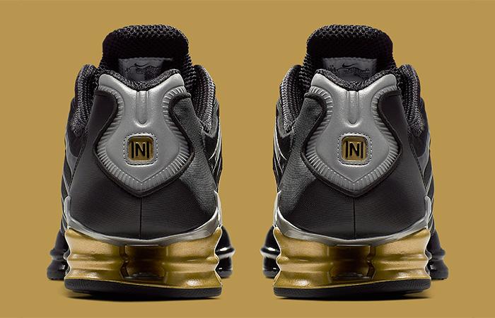 Neymar Jr Nike Shox TL Black BV1388-001