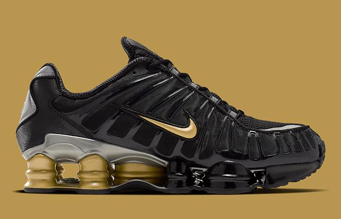 Neymar Jr Nike Shox TL Black Gold BV1388-001 03