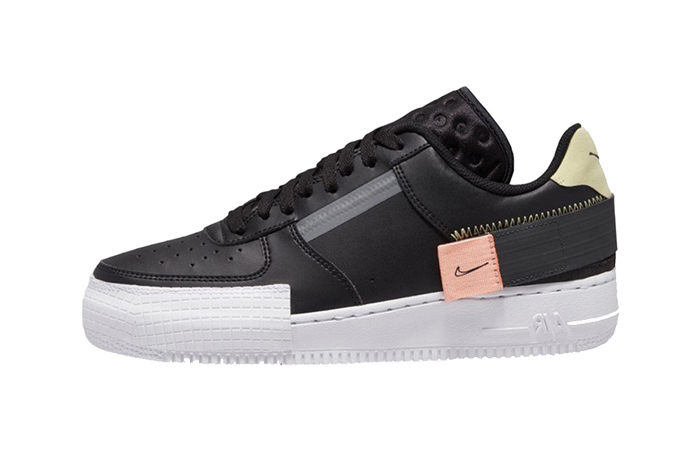 Nike Air Force 1 Low Type Black CI0054-001 01