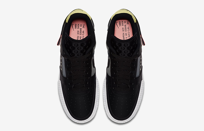 Nike Air Force 1 Low Type Black CI0054-001 03