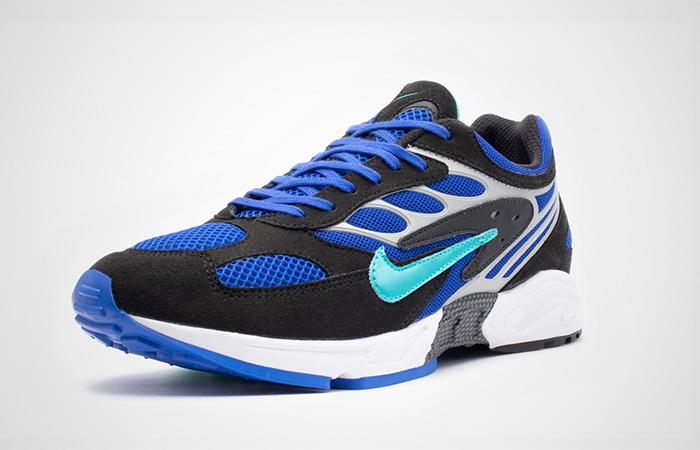 Nike Air Ghost Racer Blue AT5410-001 02
