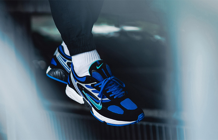Nike Air Ghost Racer Blue AT5410-001 on foot 02