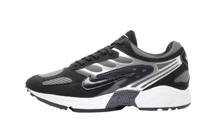 Nike Air Ghost Racer Silver Black AT5410-002 01