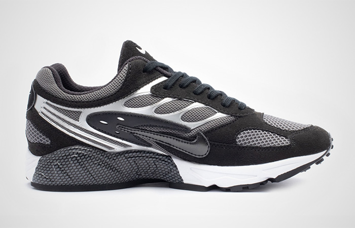 Nike Air Ghost Racer Silver Black AT5410-002 03