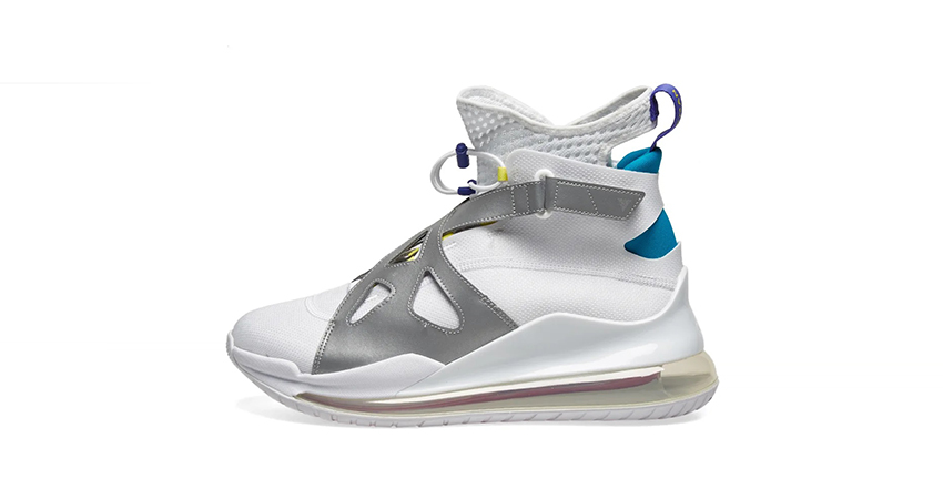 Nike Air Jordan Womens Latitude 720 Metalic White Live In FootLockerUK 03