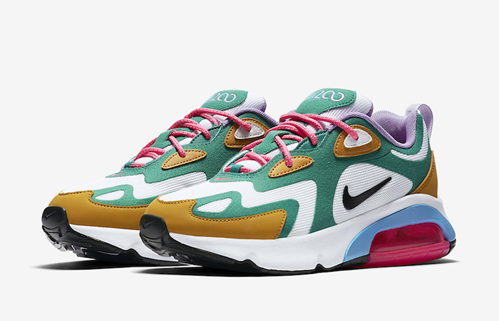 Nike Air Max 200 Mystic Green AT6175-300 02