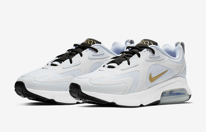 Nike Air Max 200 White Gold AQ2568 102