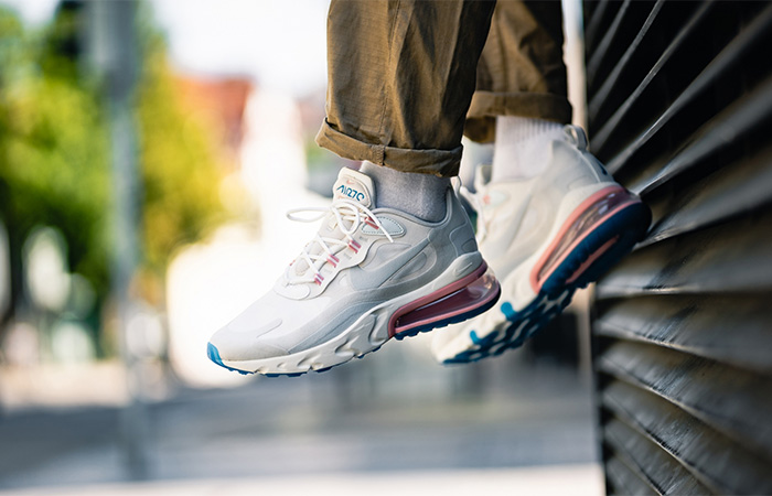 Nike Air Max 270 React Light Cream AO4971-100 on foot 01