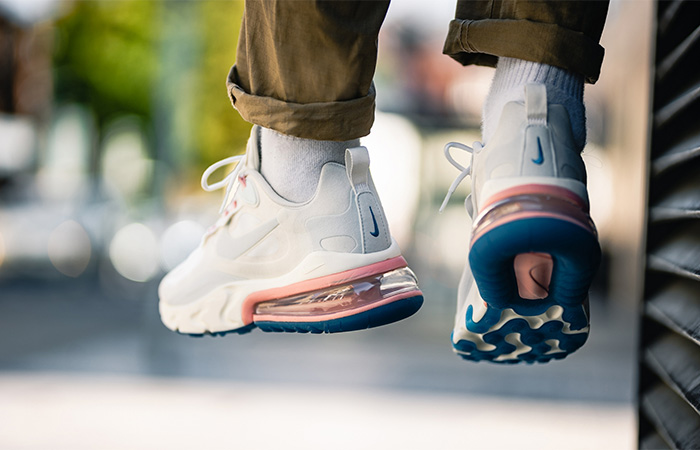 Nike Air Max 270 React Light Cream AO4971-100 on foot 03