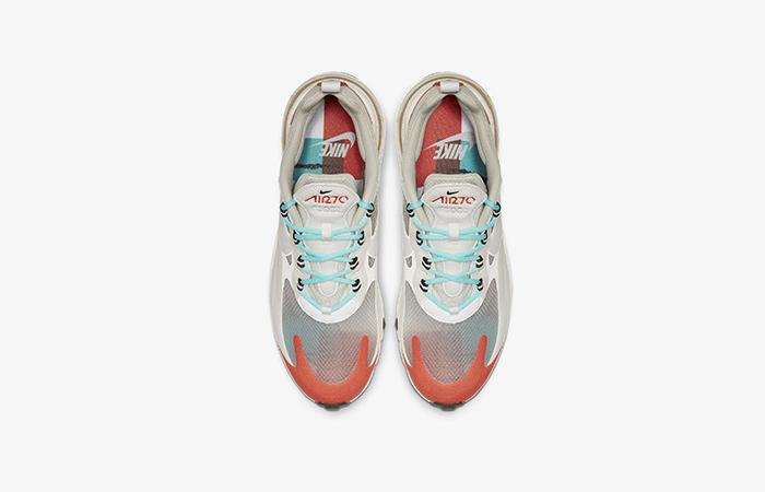 Nike Air Max 270 React Orange Beige AO4971-200 03