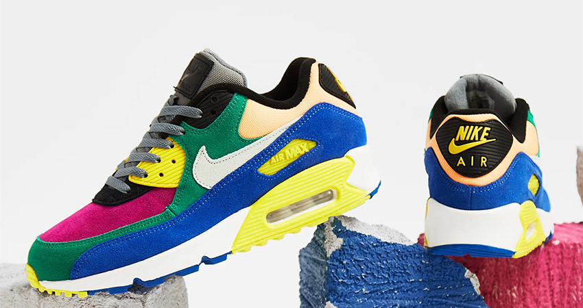 Nike Air Max 90 Coming With a Multi Coloured Body Feature 01