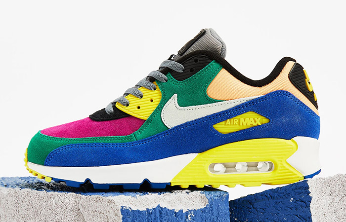 Nike Air Max 90 Coming With a Multi Coloured Body Feature ft