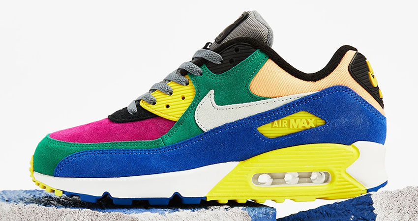 Nike Air Max 90 Coming With a Multi Coloured Body Feature