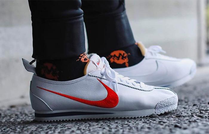 Nike Cortez 72 Shoe Dog Shwoosh CJ2586-100 on foot 01