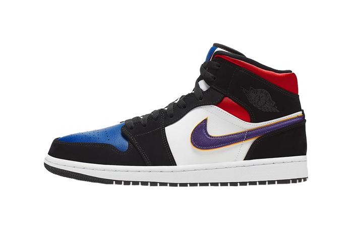 Nike Jordan 1 Mid Blue Red 852542-005 01