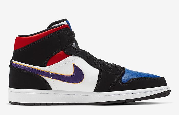 Nike Jordan 1 Mid Blue Red 852542-005 03