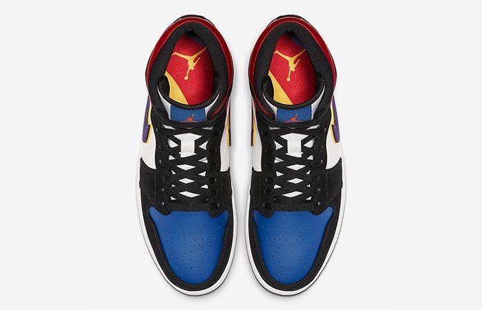 Nike Jordan 1 Mid Blue Red 852542-005