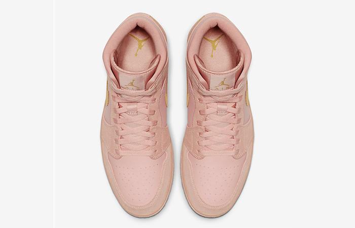 Nike Jordan 1 Mid Coral 852542-600