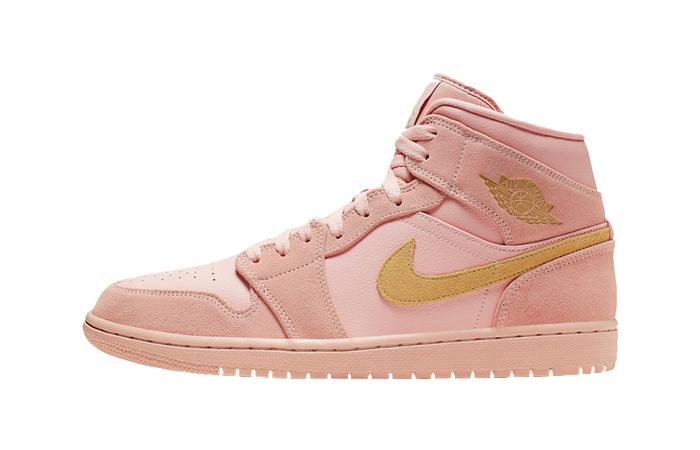 Nike Jordan 1 Mid Coral Gold 852542-600 01
