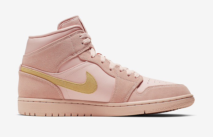Nike Jordan 1 Mid Coral Gold 852542-600 02