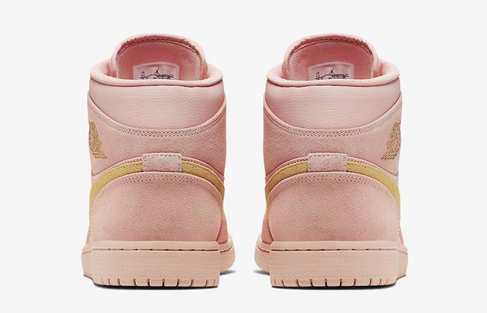 Nike Jordan 1 Mid Coral Gold 852542-600