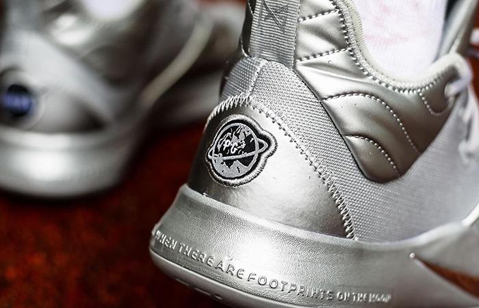 Nike PG3 NASA Reflective Silver CI2667-001 on foot 03