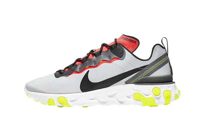 Nike React Element 55 Grey Orange BV1507-003 01