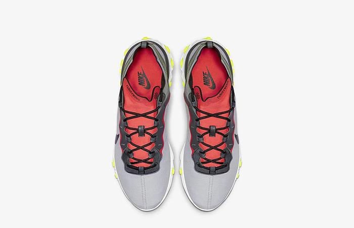 Nike React Element 55 Grey Orange BV1507-003 03