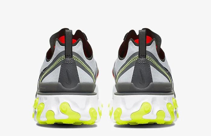 Nike React Element 55 Grey Orange BV1507-003