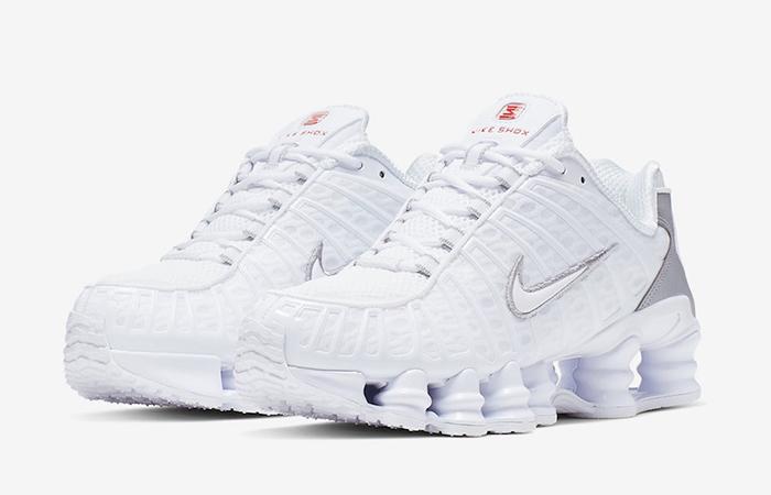 Nike Shox TL White AR3566-100 02