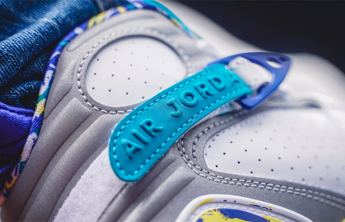 Nike WMNS Air Jordan 8 Retro White Aqua CI1236-100 on foot 03