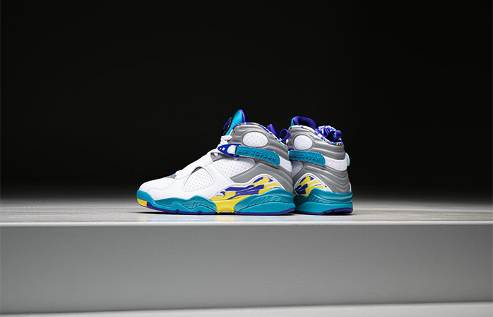 Nike WMNS Air Jordan 8 Retro White Aqua CI1236-100