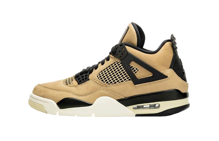Nike Womens Air Jordan 4 Beige AQ9129-200 01