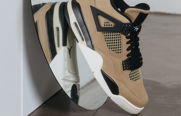 Nike Womens Air Jordan 4 Beige AQ9129-200 03