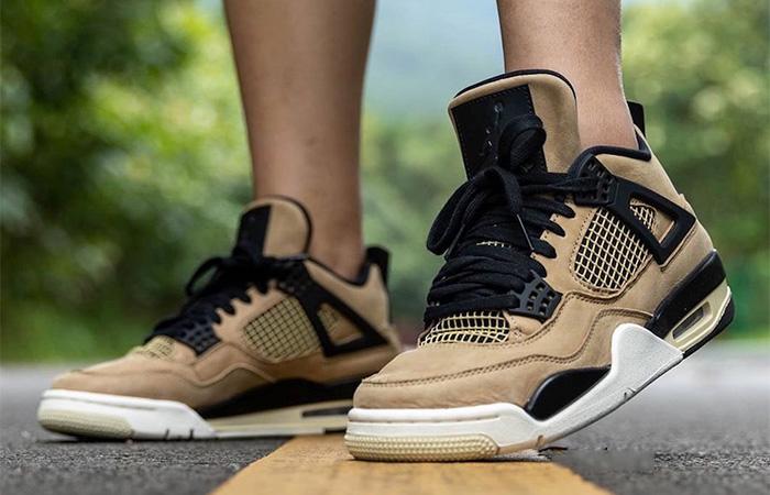 le dernier 51546 afbc5 Nike Womens Air Jordan 4 Beige