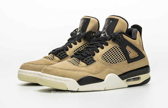 Nike Womens Air Jordan 4 Beige AQ9129-200