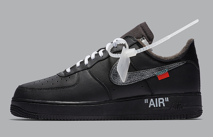 Official Images Leaked Of Off-White Nike Air Force 1 Black ft