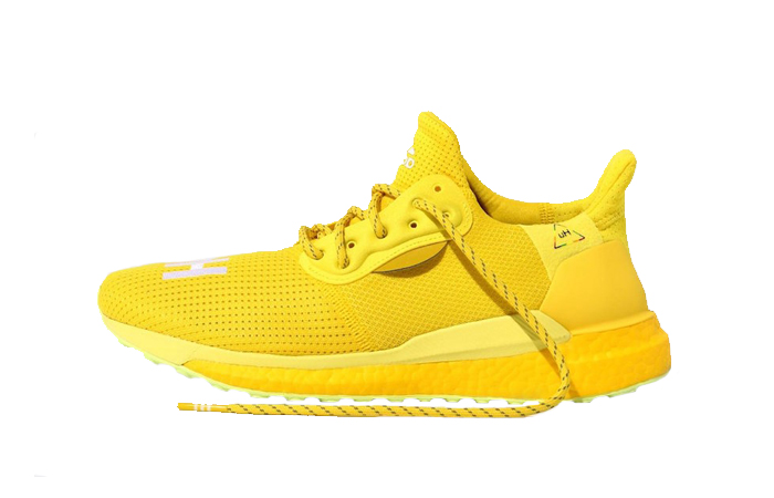 Pharrell adidas Solar Hu Glide Bright Yellow EF2379 01