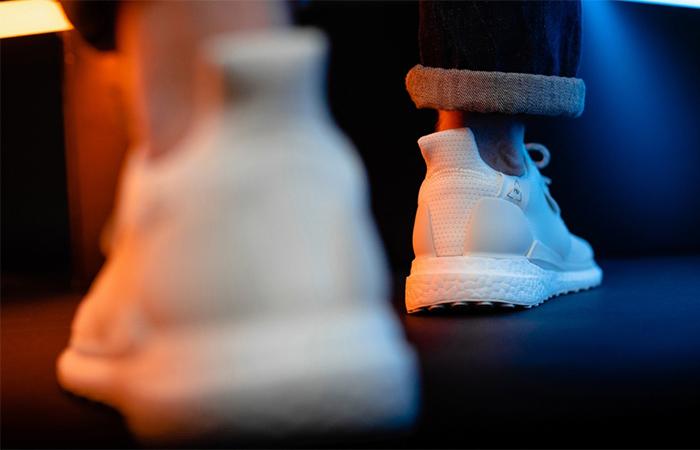 Pharrell adidas Solar Hu Glide Cream EG7767 on foot 03