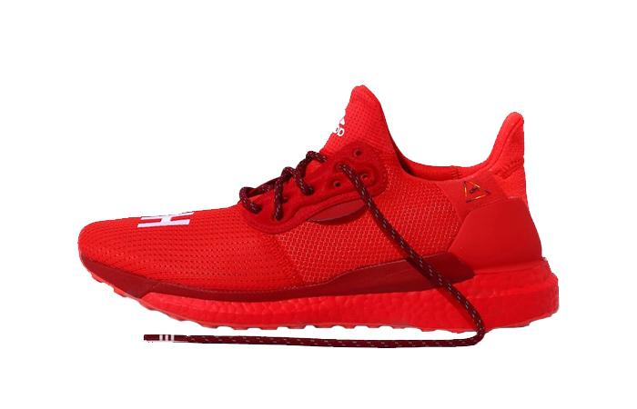 Pharrell adidas Solar Hu Glide Red EF2381 01