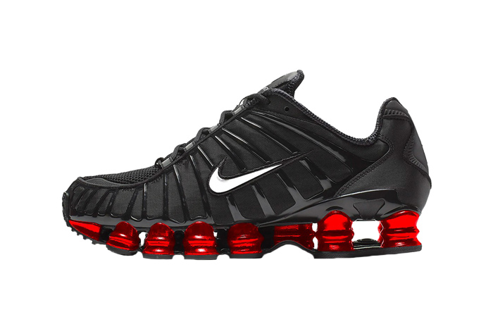 Skepta Nike Shox TL Black Red 01