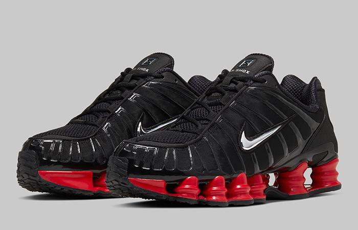 Skepta Nike Shox TL Black Red CI0987-001 02