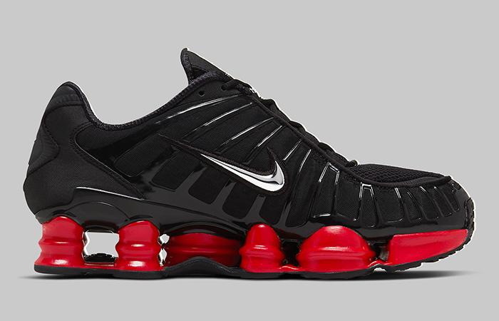 Skepta Nike Shox TL Black Red CI0987-001 03