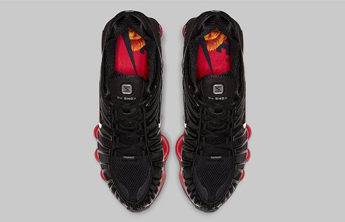 Skepta Nike Shox TL Black Red CI0987-001 04