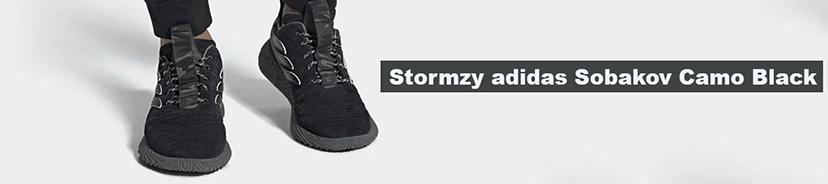 Stormzy adidas Sobakov Camo Black